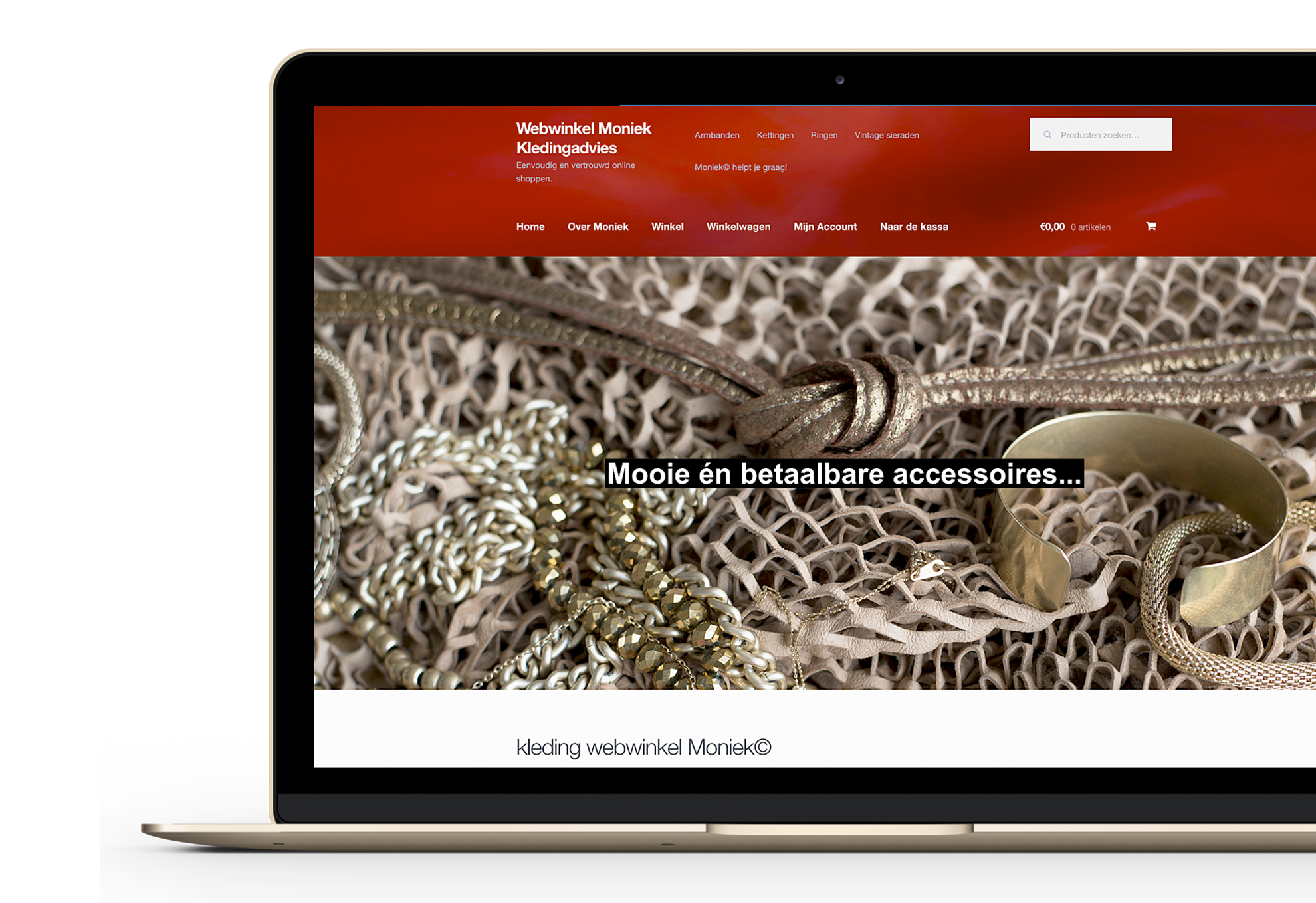 Webwinkel Moniek-Kledingadvies project